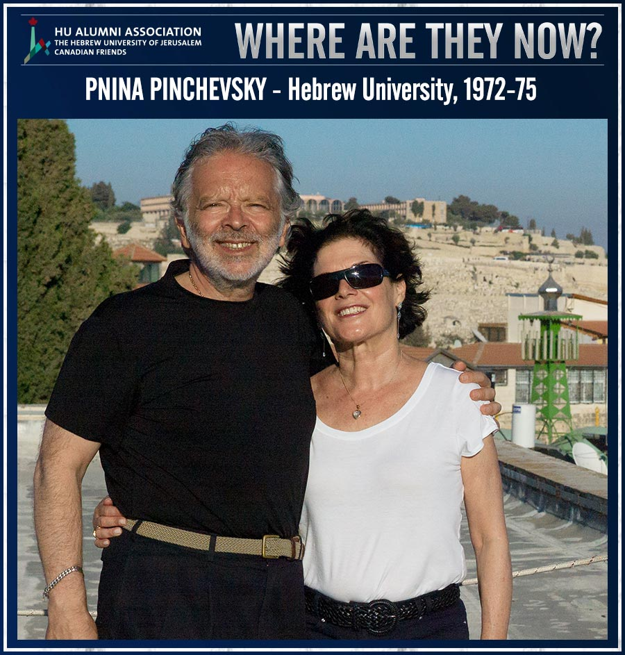 Where are they now? Pnina Pinchevsky