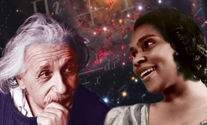 Albert Einstein and Marian Anderson