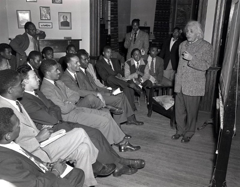 Einstein at Lincoln University