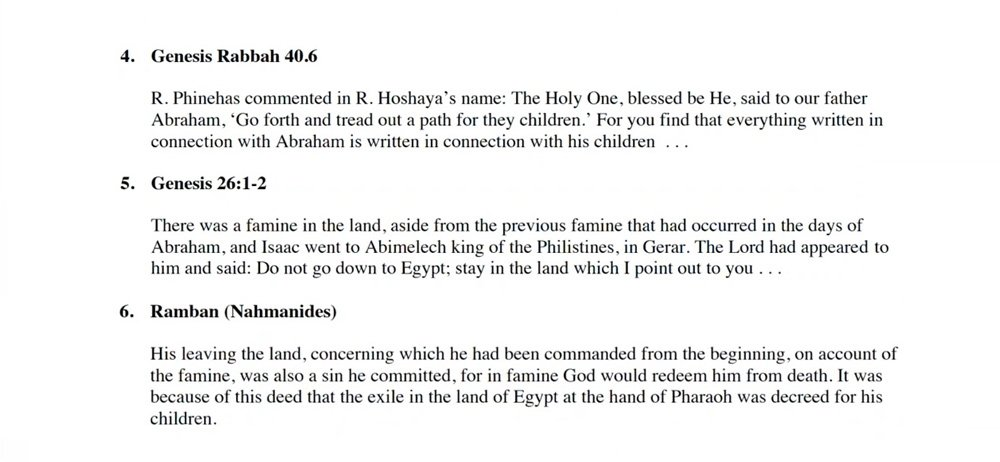 A Question Never Asked: Why were the Israelites Enslaved in Egypt?